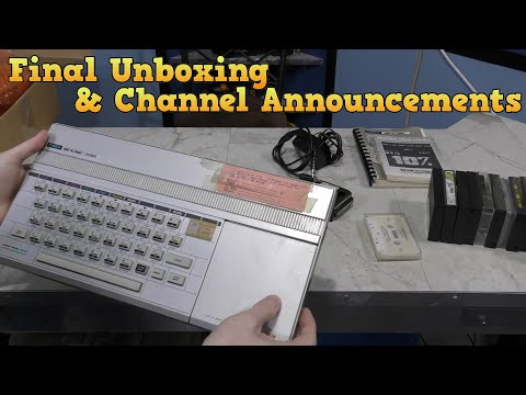 Final Unboxing Video And Channel Announcements