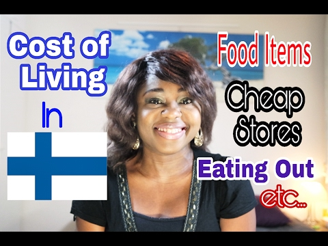 The Cost Of Basic Food Items In Finland   Cost Of Living In Finland