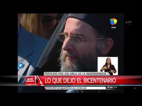 Macri dio marcha atrás y asistió al final de los actos del Bicentenario