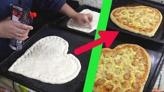 Tutorial: Heart Shaped Pizza For Valentine's Day