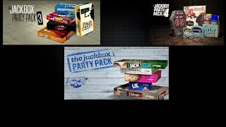 The Jackbox Party Pack 4 - №23, The Jackbox Party Pack 1 - №15 и The Jackbox Party Pack 3 - №27
