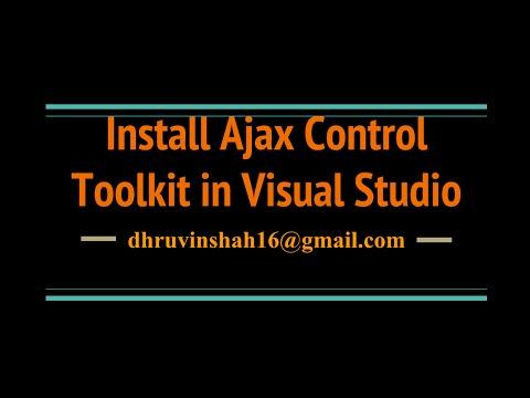 Installing ajax toolkit in visual studio 2010 (net 4. 0 ) youtube.