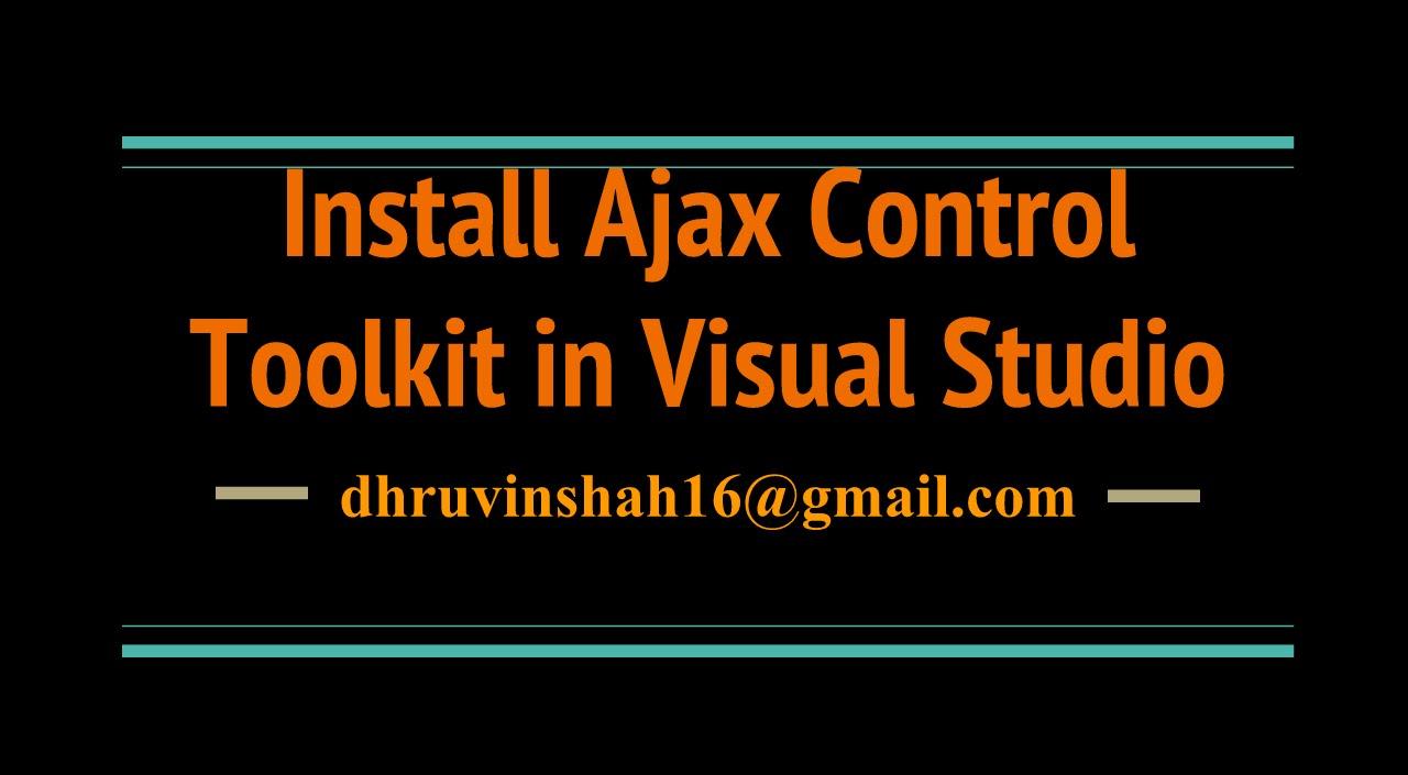 Add ajax toolkit in visual studio 2010   codebyte.