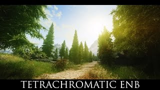 TES V - Skyrim Mods: Tetrachromatic ENB