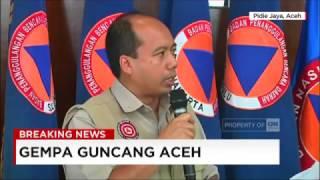 Kapusdatin & Humas BNPB: Korban Meninggal Akibat Gempa Aceh Jadi 52 Orang