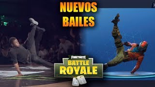NEW FORTNITE BAILES IN REAL LIFE (Breakdance, Robot Dance,)
