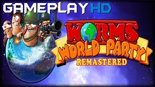 Worms World Party Remastered Gameplay (PC HD) [1080p]