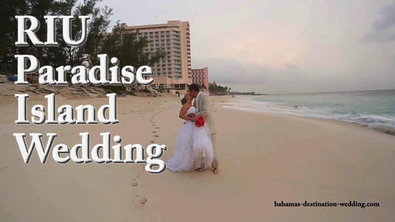 Riu Paradise Island Wedding
