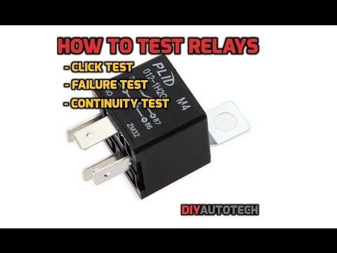 Electrical Series: How To Test A Relay - 1080p HD