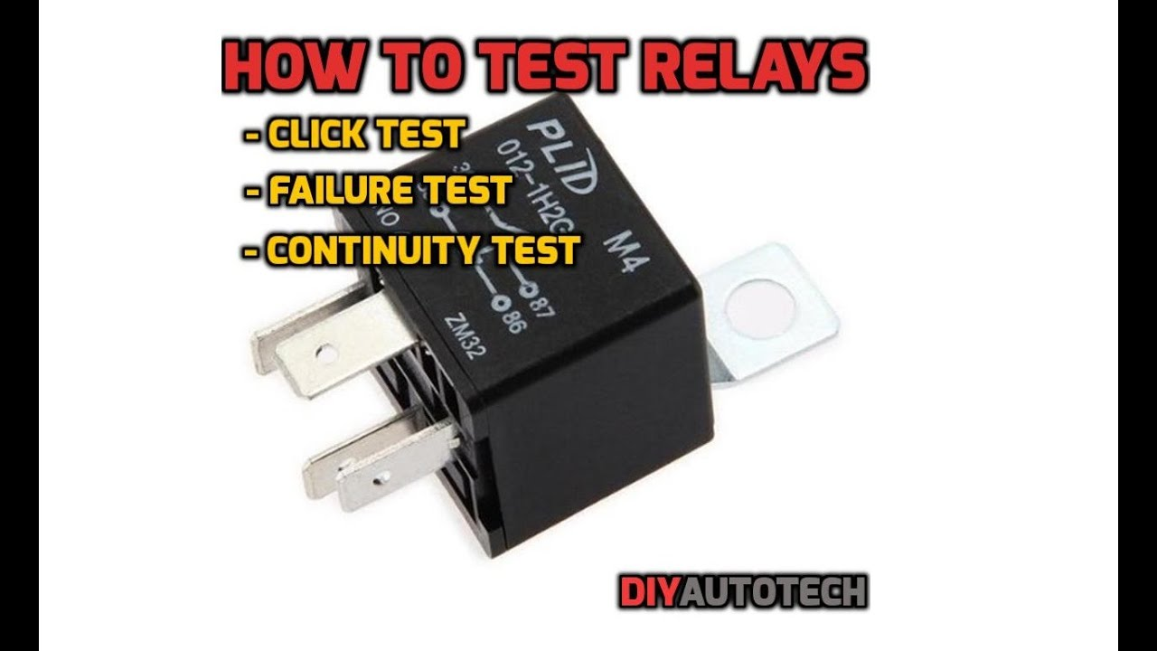 5 Pin Relay Tester