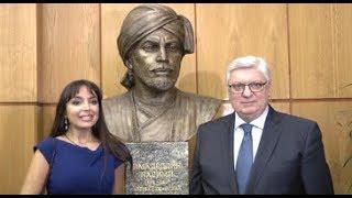 В МГИМО открыли бюст Имадеддина Насими