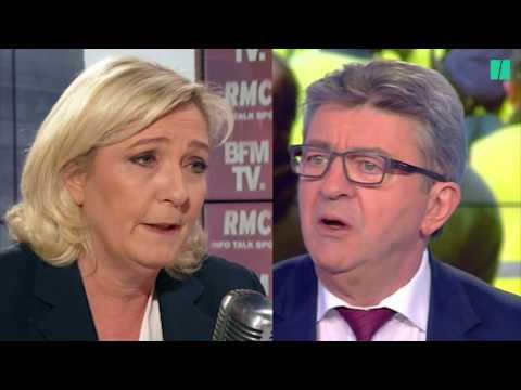 Le Pen et Mélenchon veulent récupérer Gilets jaunes, mais...