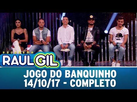 Jogo do Banquinho - Completo   Programa Raul Gil (14/10/17)
