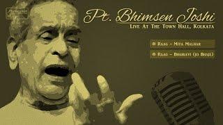 Pt. Bhimsen Joshi Live in Concert | Hindustani Classical | Miya Malhar | Bhairavi