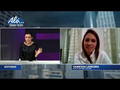 """.@vaneleca """"Mi papá sueña con que todos podamos volver a Venezuela"""". Aló Buenas Noches. Seg. 7"""
