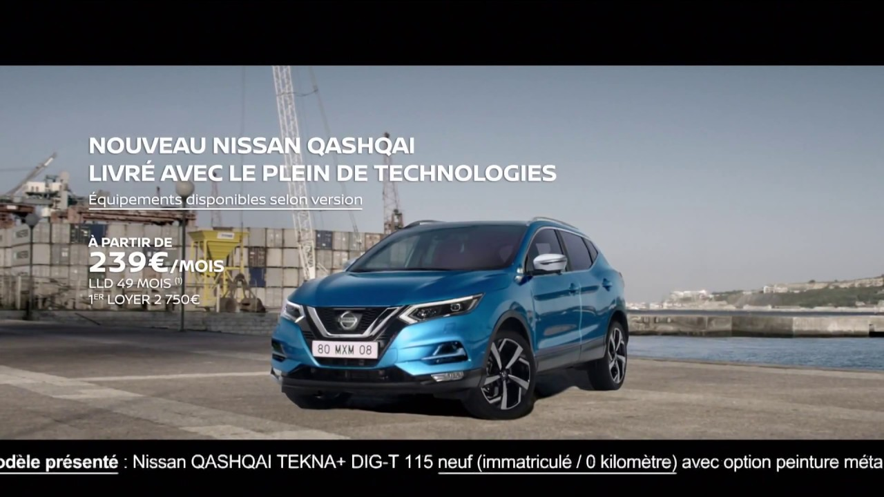 Publicité 2018 Nissan Qashqai Youtube