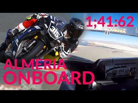Almeria Onboard Lap - 1;41.62 Yamaha R1 RN49 YART