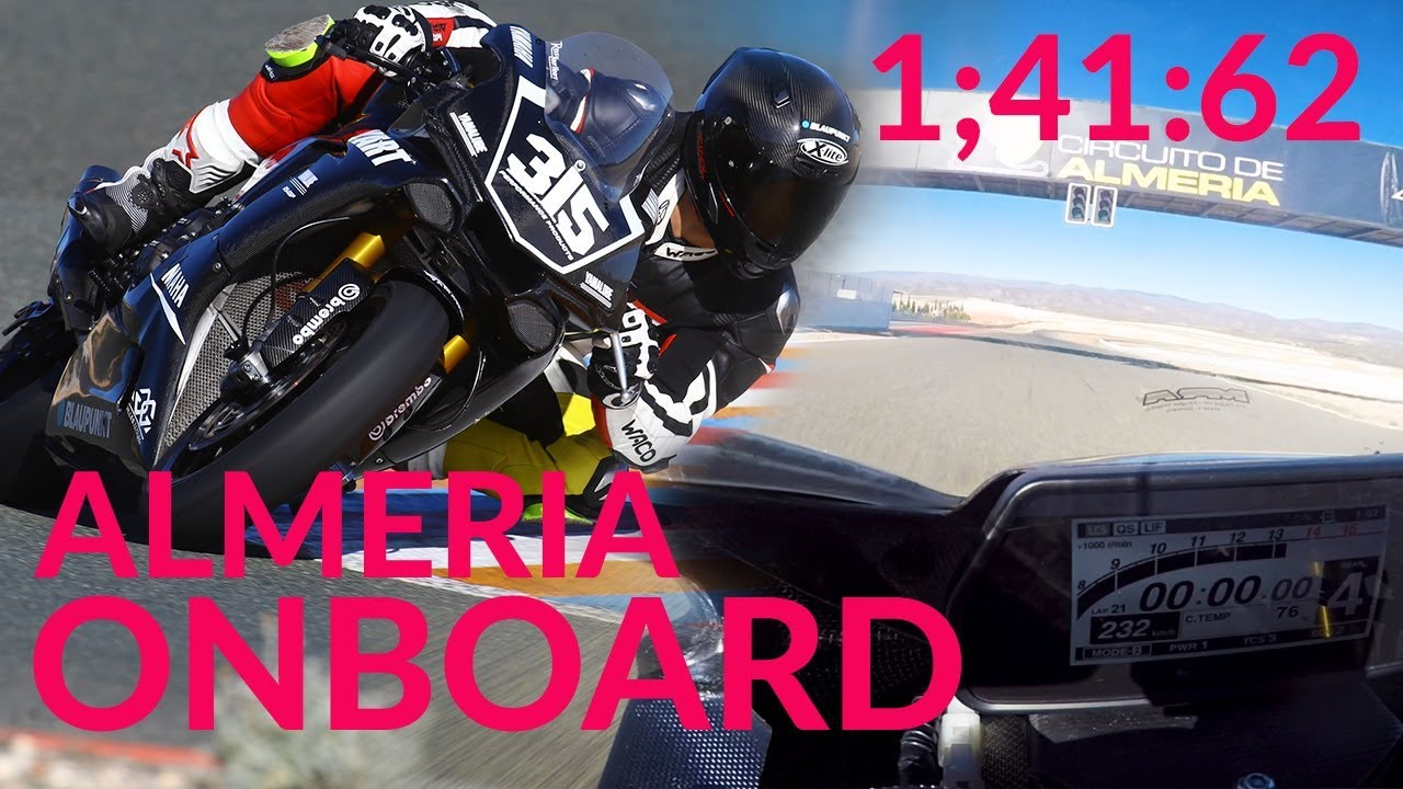 the latest buying now best loved Almeria Onboard Lap - 1;41.62 Yamaha R1 RN49 YART