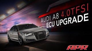 APR A8 4.0T ECU Upgrade vs Stock - Acceleration