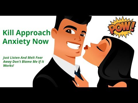 Destroy Approach Anxiety Hypnosis | Romantic Hero