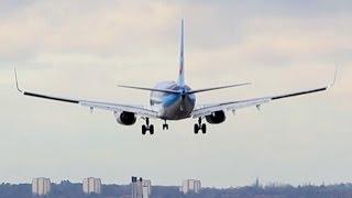 Birmingham Airport: Plane Spotting on Runway 33