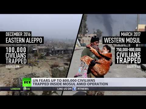 'Collateral damage is a justification term' MSM bias exposed in coverage of Mosul vs. Aleppo