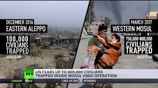 'Collateral damage is a justification term' MSM bias exposed in coverage of Mosul vs  Aleppo