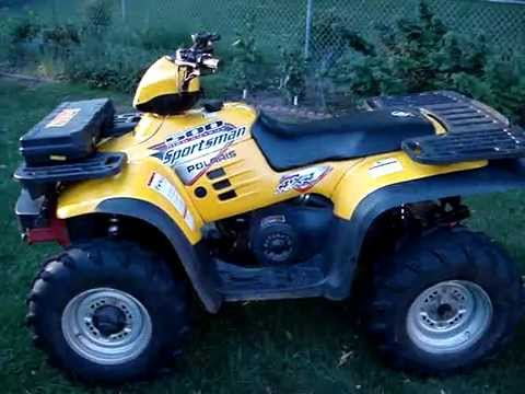 2003 Polaris Sportsman 500 H O 4x4 Yellow Youtube