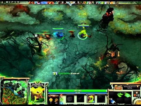 DotA 2 Friend Lobby 5v5 - Game 1