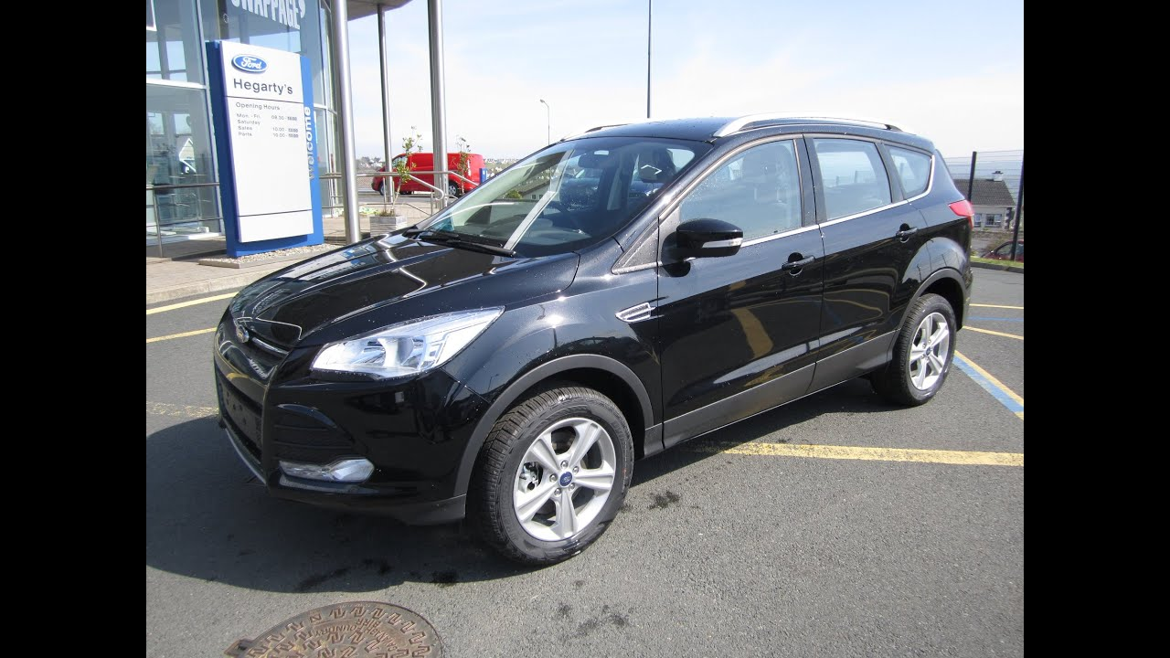 review and test drive 2015 ford kuga zetec youtube. Black Bedroom Furniture Sets. Home Design Ideas