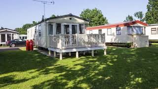 Caravan for hire at Seawick holiday park