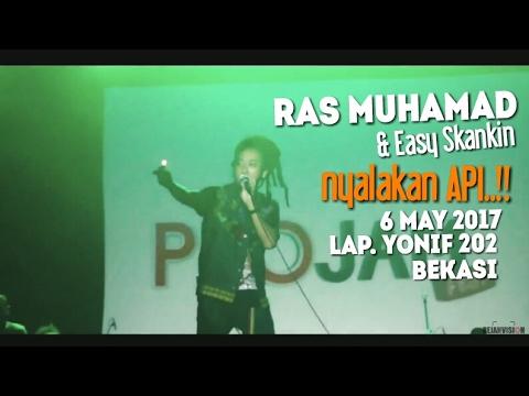 MUSIK REGGAE INI - Ras Muhamad & Easy Skankin - Lap. Yonif 202 Bekasi 6 May 2017 ProJamFest