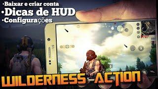 Battlegrounds Wilderness Action: DICAS COMPLETAS DE CONFIGURAÇÃO E HUD  |  COMO BAIXAR E CRIAR CONTA
