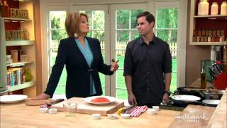 Hallmark Channel Home & Family 2082   Christina Cooks Scrumptious California Salmon With Dustin Ande