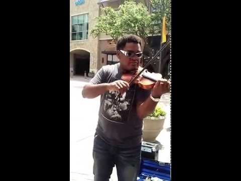 Garth Brooks Standing Outside The Fire Fiddle Violin Cover...Enjoy