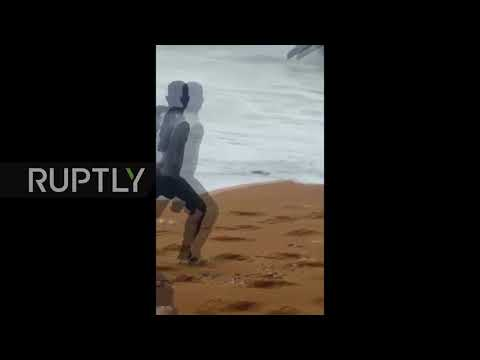 Ivory Coast: 4 killed as cargo plane plunges into sea near Abidjan