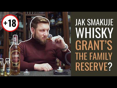 Jak smakuje whisky Grant's The Family Reserve?