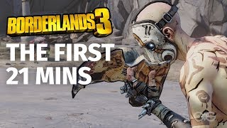 The First 21 Minutes of Borderlands 3 in 4K