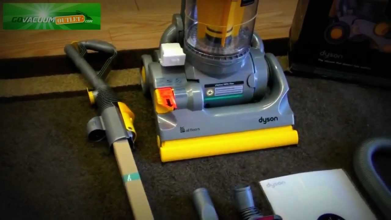 Dyson Dc07 Original Upright Vacuum All Floors Brand New Review Unboxing You