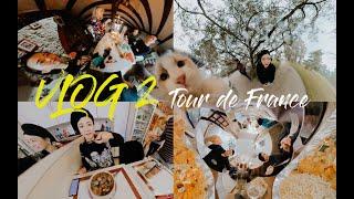 法語Vlog2 Retour en France (sous-titré !) 与法国一家人一起过情人节 我的归属感之城 我的大学&研究院 ❤️