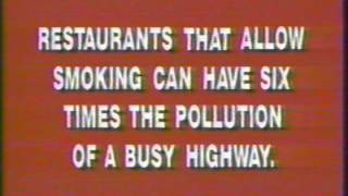 1982 Center for disease control and prevention campaign commercial