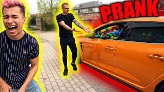 AUTO WYPEŁNIONE KOLOROWYMI PIŁKAMI PRANK! (5.000 PIŁEK)