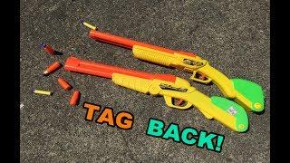TAG BACK! - BuzzBee Double Shot Shotgun (2003) | Walcom S7