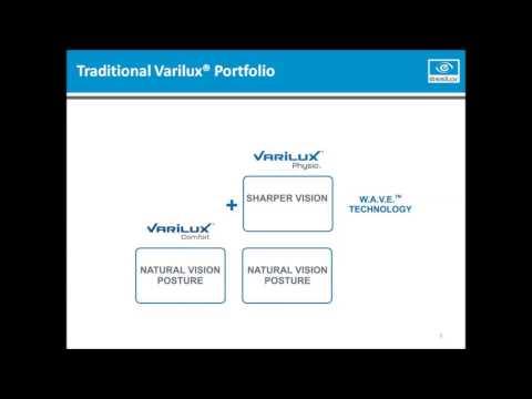 Varilux Training Presentation - HB Optical Laboratories