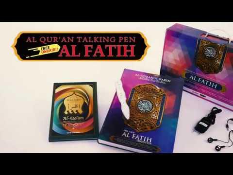 08982282286 | PUSAT BUKU SUNNAH | Jual Buku Ahlussunnah | AL QUR'AN AL FATIH TALKING PEN