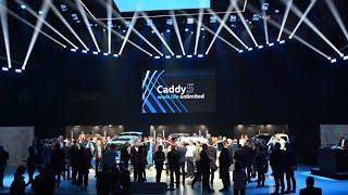 Das Event - Caddy5 Weltpremiere | Volkswagen Nutzfahrzeuge