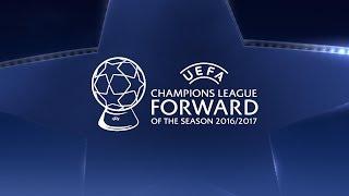 Messi, Dybala, Ronaldo: UEFA Champions League Forward of the Season 2016/17