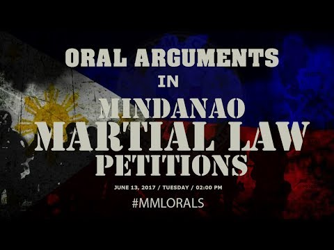 Download Youtube: Oral Arguments in Mindanao Martial Law Petitions - Day 1 PM