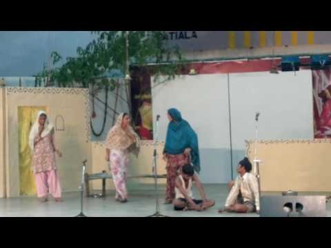 punjabi play, natak, people's art patiala.