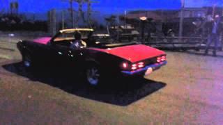 Pontiac Firebird 6.6/400 1968 burnout